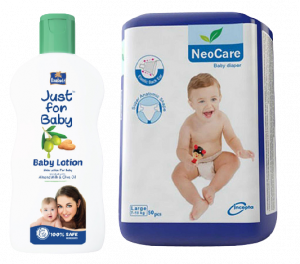Neocare Belt L 50 (7-18 kg) (Parachute - Just for Baby 50 ml Lotion FREE)