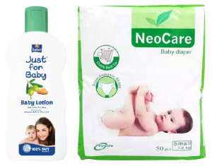 Neocare Belt M 50 (4-9 kg) (Parachute - Just for Baby 50 ml Lotion FREE)
