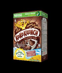 Nestle Koko Krunch Chocolate Flavoured Cereal - BIB (330 gm)