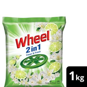 Wheel Washing Powder 2in1 Clean & Fresh 1Kg