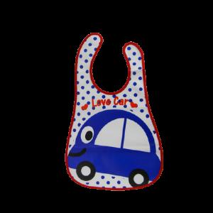 Plastic BiB (Love Car)