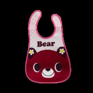 Plastic BiB (Red Bear)