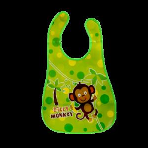 Plastic BiB (Silly Monkey)