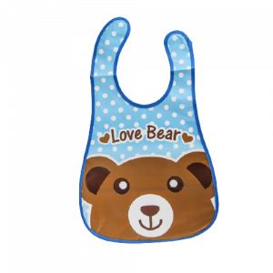 Plastic BiB (Love Bear)