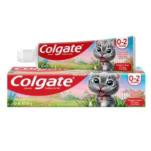 Colgate Tooth Paste for kids 65 gm - Anticavity Strawberry flavor
