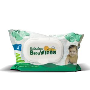Bashundhara Baby Wipes (Pouch) 100 Pcs