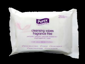 Purex Visage Cleansing Wipes - 25 Pcs