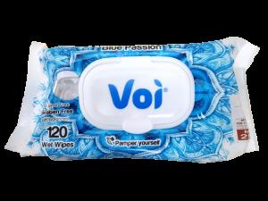 Voi Wet Wipes 120 Pcs - Blue Passion