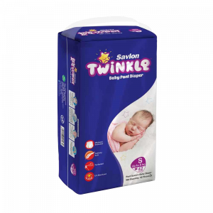 Savlon Twinkle Baby Pant Diaper S 42 (Up to 8 kg)