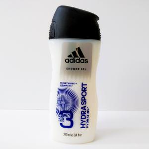 Adidas Hydra Sport Hydrating 3in1 Shower Gel 250ml