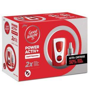 Godrej Good Knight Power Active Machine + Refill (45ml)