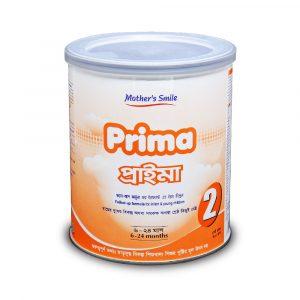 Mother's Smile Prima 2 Milk (6-24 m) - TIN (400 gm)