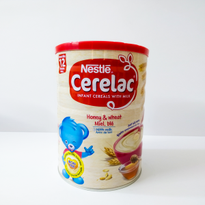 Nestle Cerelac Honey & Wheat with Milk (from 12 months) TIN 400gm