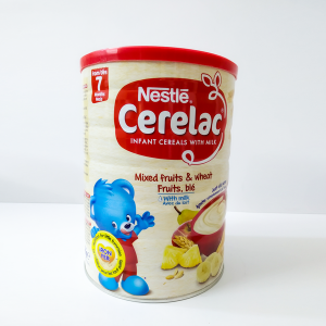 Nestle Cerelac Mixed Fruits & Wheat with Milk (from 7 months) TIN 1kg