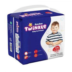Savlon Twinkle Baby Pant Diaper XXL 24 (14-25 kg)