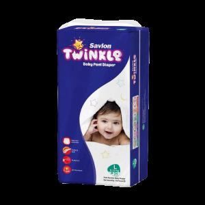Savlon Twinkle Baby Pant Diaper L 34 (8-15 kg)