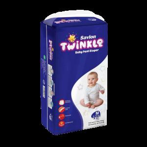 Savlon Twinkle Baby Pant Diaper M 40 (6-12 kg)