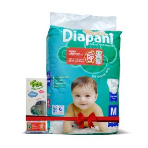 Bashundhara Diapant M 40 (7-12 kg) - Toggi Feeding Bottle 100ml Free
