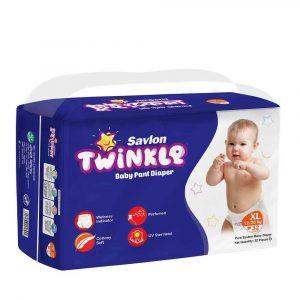 Savlon Twinkle Baby Pant Diaper XL 32 (12-20 kg)
