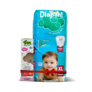Bashundhara Diapant XL 32 (12-17 kg) - Toggi Feeding Bottle 250ml Free