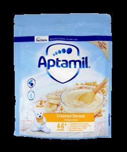 Aptamil Creamed Banana Porridge (4 -6 m+)-125 gm