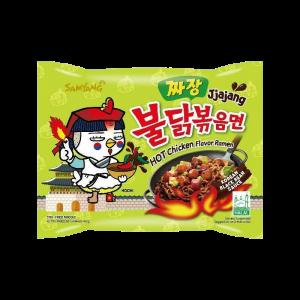 Samyang Jjajang Hot Chicken Flavor Ramen - 700 gm (5 Pcs Pack)