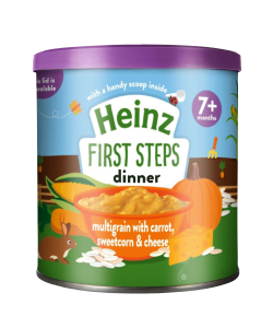 Heinz Multigrain with Carrot, Sweetcorn and Cheese (7 m+)-200 gm