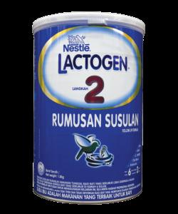 Nestlé LACTOGEN 2 Infant Formula (6m-3 y) - TIN (1.8 kg)
