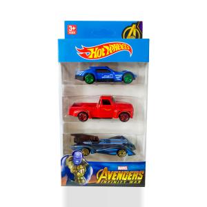 Hot Wheels Car - Marvel Avengers Infinity War (3 Pcs)