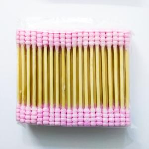 Sinwuas Cotton Cotton Buds 100 Pcs - Pink
