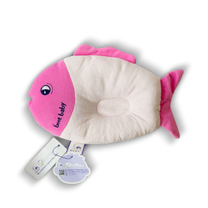 Best Baby Pillow - Pink Fish