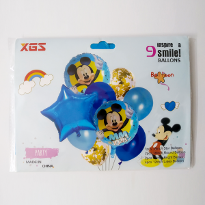 Character Party Baloon - Mickey Mouse (9 Pcs)