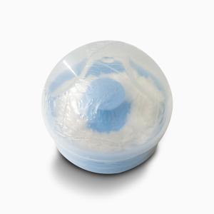 Baby Powder Box with Puff - Blue