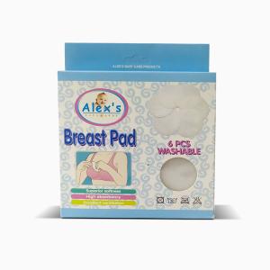 Alex's Washable Breast Pad (6 Pcs)