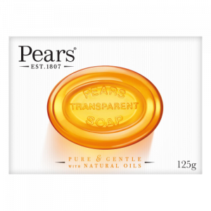 Pears Transparent Soap Pure and Gentle with Plant Oils 125gm
