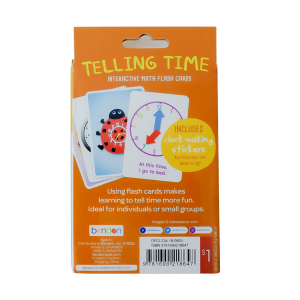 Bendon Learning Flash Cards - Phonics & Telling Time