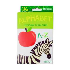 Bendon Learning Flash Cards - Alphabet, Colors & Shapes