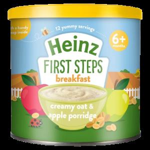 Heinz Breakfast Creamy Oat & Apple Porridge (6 m+) - 200gm