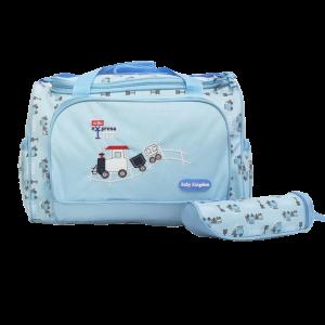 Diaper Bag - Baby Kingdom Sky