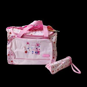 Diaper Bag - Baby Kingdom Pink