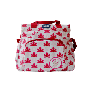 Diaper Bag - Chicco Red Flower