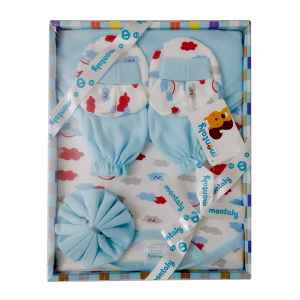 Montaly 5 Pieces Gift Set (Sky)