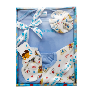 Montaly 5 Pieces Gift Set (Cutie Baby - Sky)