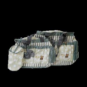Diaper Bag Set - Ash