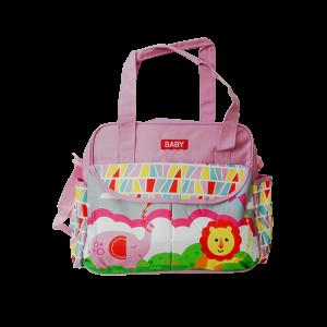 Diaper Bag - Baby Lion Pink